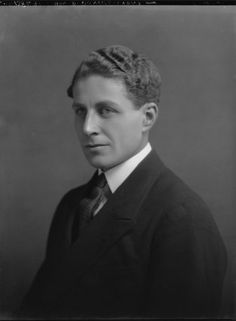 David Bowes-Lyon 1902-1961. Brother of Elizabeth, Queen Consort of King George VI & Queen Mum to Queen Elizabeth II