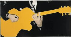 John Baldessari, Yellow Guitar