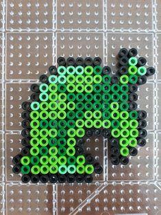 Easy Perler Bead Patterns, Melty Bead Patterns, Perler Bead Templates, Diy Perler Beads, Perler Bead Art, Beading Patterns, Hama Beads Pokemon, Hama Beads Animals, Animal Crossing Leaf