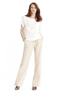 Foxcroft Linen Pant