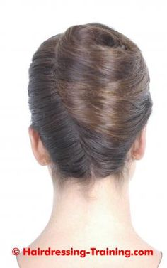 hairstyle French pleat
