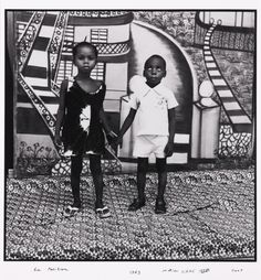 by Malick Sidibé (born 1935 or 1936) is a Malian photographer noted for his black- and-white studies of popular culture in the 1960s in Bamako.
