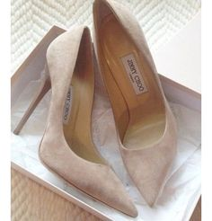 jimmy choo nude suede pumps Checkout for more! - Annette Klein - Merulla jimmy choo nude suede pumps Checkout for more! Stilettos, Pumps Nude, Suede Pumps, Pumps Heels, Stiletto Heels, Work Pumps, Nude High Heels, Pointed Heels, Pretty Shoes