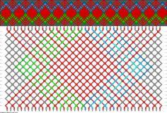44 strings, 22 rows, 8 colors vietoj raudonos geltona