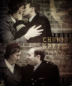 Call the Midwife Love Chummy and Peter-not only the gorgeous people get to fall in love. I adore Rocky I for the same reason. The passion of the first kiss between Rocky and Adrian two lonely people just blew me away.