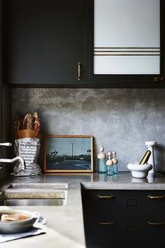 Concrete might seem like an unusual choice for your kitchen remodel, but given the right setting, its rustic, textured look can set just the right tone. Take a look at these 15 kitchens, where countertops, backsplashes, and even whole islands made of concrete feel just right. Who knows, you might just end up considering if for your renovation.