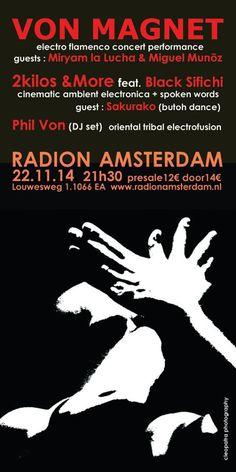 Von Magnet  22.11.14 Radion Amsterdam