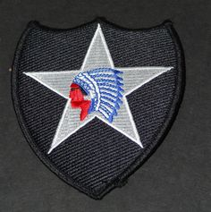 2nd Infantry Division Second United States Army Patch Shoudler Patch Collectible to wear or us as a prop or just collect  http://www.rarevintagecollectibles.com