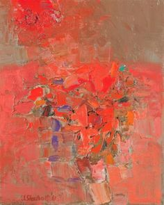 Jack Shadbolt: Red Theme, 1961