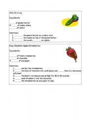 Essay on Recipes