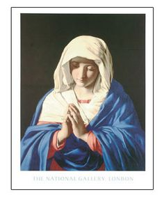 The Virgin In Prayer By Sassoferrato: http://www.tajonline.com/gifts-to-india/gifts-NFA208.html?aff=pintrest2013/