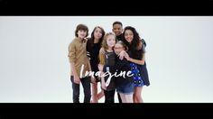 """Kids United - Imagine (Official Video) - Extrait de l'album """"Un Monde Meilleur"""" disponible maintenant : http://rldd.co/UnMondeMeilleur - Plus d'infos : http:..."""