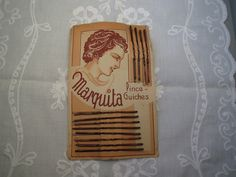 Vintage 1950's Bobby Pins Card marked Marquita by karmolijntje, €6.25 SOLD