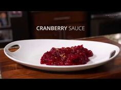 Homemade Cranberry Sauce: I love this recipe because it uses fresh cranberries and it has a tartness that gives a nice hint of fresh orange zest. It's so, so much better than the cranberry-colored stuff that comes in a can. Fresh Cranberries, Orange Zest, Cranberry Sauce, Beef, Homemade, Canning, Nice, Recipes, Food