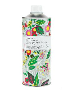 Library of Flowers Wildflower & Fern Bubble Bath with Coco Butter - Neiman Marcus