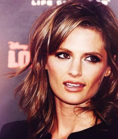 Love the cut and color. Kate Beckinsale Hot, Actors Images, Most Beautiful Women, Absolutely Gorgeous, Stana Katic, Great Hair, Woman Crush, Cut And Color, True Beauty