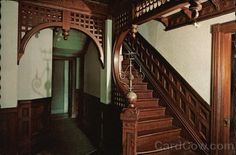 Inside Winchester Mystery House | Winchester Mystery House - Staircase San Jose California