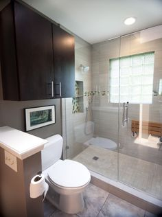 this recent small bathroom remodel located in central austin really packs a punch with personality - Bathroom Remodeling Austin