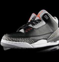 buy online c21c1 758ea Black Cements Nouvelle Jordan, Jordan 3 Black Cement, Air Jordan Basketball  Shoes, Cheap
