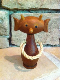 Danish Mid Century Teak Martian Corkscrew by maryevelynsdaughter, $20.00