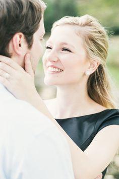 Engagement photos in Houston, Texas - Rice University @theknot by Blake Verdoorn