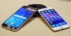 Lượng bán iPhone 6 sẽ giảm khi Galaxy S6 lên kệ? | Điện thoại giá rẻ tại Hà Nội