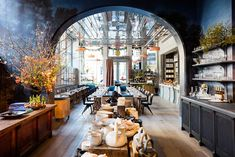 La Mercerie Cafe at the Roman and Williams Guild | New York