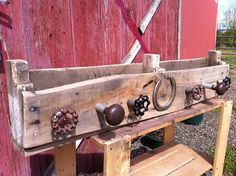 Western Style Entry Coat Rack and Shelf by EWesternDesigns on Etsy, $50.00