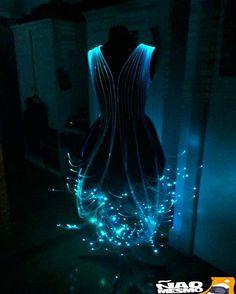 vestido neon, ideias de fantasias.