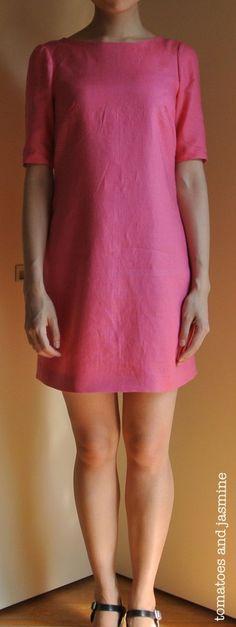Laurel dress pattern from Colette