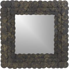 Luna Mirror in Wall Mirrors Entry Mirror, Over The Door Mirror, Wall Mirrors, Condo Furniture, Wood Circles, Hanging Lanterns, Architectural Elements, Amazing Bathrooms, Crate And Barrel