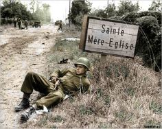 American soldier - st.Mere Eglise 1944 ww2 | Flickr - Photo Sharing!