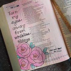 Psalm 119:37  #biblejournaling #bible #biblejournalingcommunity #faith #illustratedfaith #psalms http://ift.tt/1KAavV3