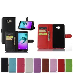 Luxury Wallet Leather Case For Samsung Galaxy A9 Pro Leather Flip Case For Samsung Galaxy A9 Pro (2016) with Card Slot Stander