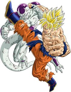 Dragon Ball Z - Goku vs Freeza