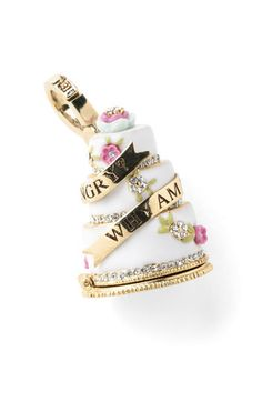 Juicy Couture Wedding Cake Charm