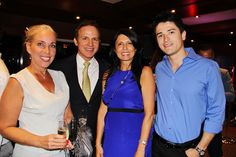 Echo Brickell Launches With Spectacular Event On Board The Seafair. | MetroCitizen Magazine. Alina Quintero, Roberto Malca, Liliana Albrecht, Juan Camilo Losada.