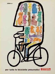 Riccardo Manzi, Annuncio pubblicitario Pirelli, 1962