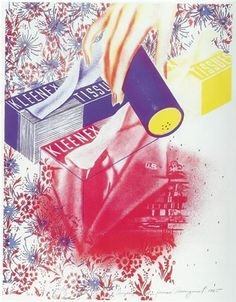 James Rosenquist (American, born 1933) Title: Campaign, 1966 Medium: Prints and multiples, Color Lithograph Edition: Ed. of 26 Size: 29 x 22 in. (73.7 x 55.9 cm.) Movement: Pop Art