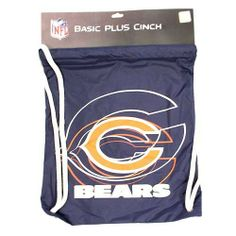 Chicago Bears NFL Drawstring Cinch Bag Backpack NEW STYLE by NFL. Save 50 Off…