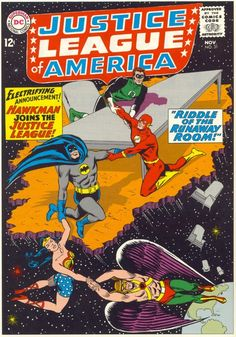 Justice League Of America #31, November 1964, cover by Mike Sekowsky and Murphy Anderson