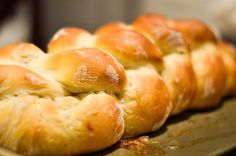 Beautiful Challah Bread that is easy and quick