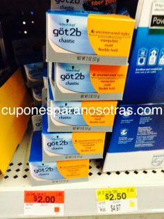 Walmart: Got2b Productos GRATIS!!  http://www.cuponesparanosotras.com/2014/06/walmart-got2b-productos-gratis.html