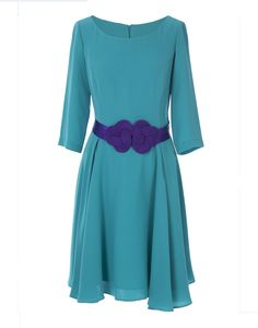 Vestido Artemisa Turquesa