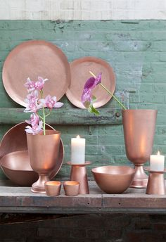 Anthurium Info - Alles over de anthurium snijbloem en potplant Decor, Copper Kitchen, Copper Rose, Show Home, Interior Deco, House Colors, Color, Koper, Home Deco