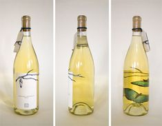 Inspired by the Niagara Butterfly Conservatory, the transformation of this butterfly is apparent as the bottle is turned.    Using the language of species identification tags, this wine is personified throughout the packaging.                  Designed by Melissa Deckert, a student at Pratt Institute.