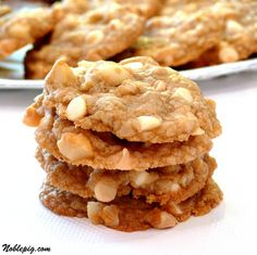 White Chocolate Macadamia Nut Cookies | Noble Pig