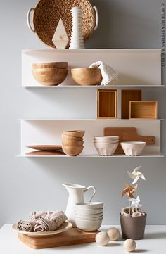 Minimalist decor can give a relaxing openness to any space - new IKEA shelves BOTKYRKA Decor, Botkyrka, Ikea Shelves, Shelves, Interior, Wall Shelves, Ikea, Metal Shelves, Pink Shelves