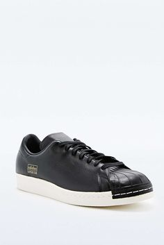 cheap for discount c4948 b5992 adidas Superstar 80s Clean Trainers in Black