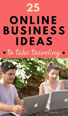 Are you tired of commuting to the same job every day? Do you dream of traveling without restriction? Here are 25 online business ideas that you can take traveling WITH you next year! Click through to read now...